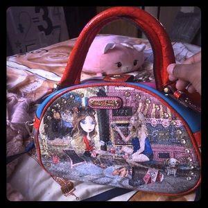 Nicole Lee Bowling Ball Handbag